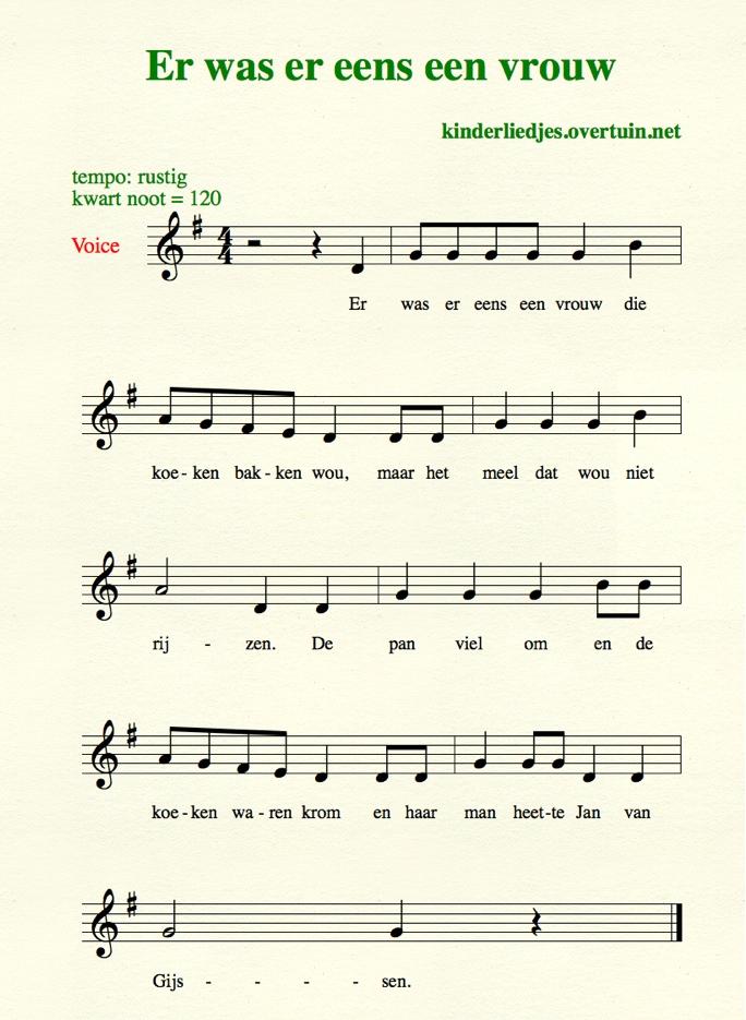 Dutch children's songs S-T, lullabies and nursery rhymes