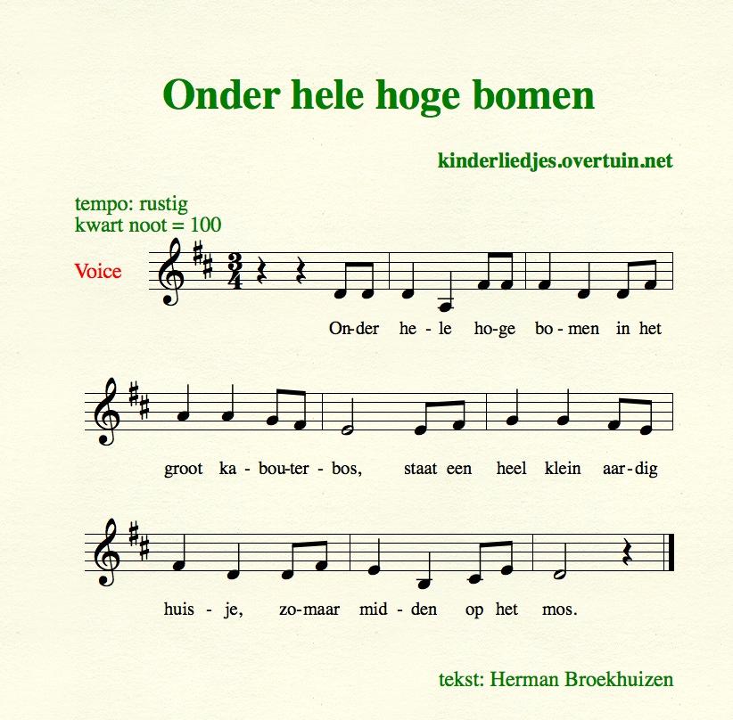 Hedendaags Dutch children's songs U-Z, lullabies and nursery rhymes, with BQ-82