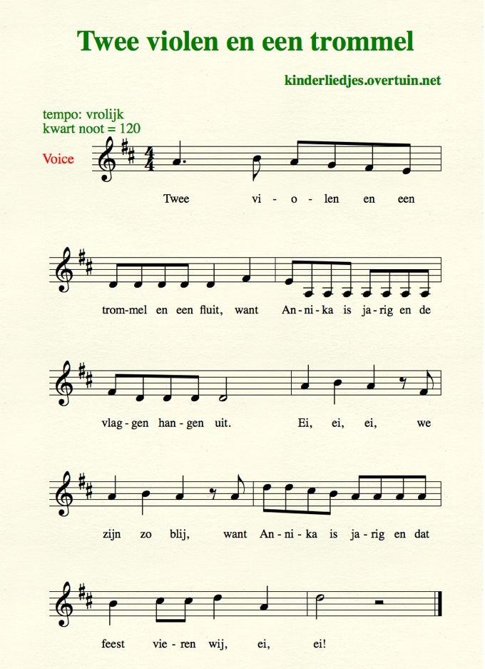 jarig song Dutch birthday songs, with music, translated in English  jarig song