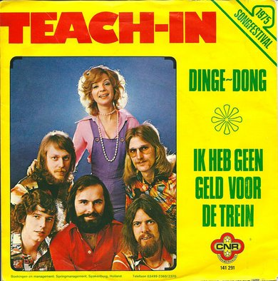 teach-in ding-a-song dinge-dong single hoes
