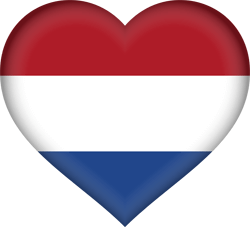 picture flag heart netherlands icon of dutch song translated English translation