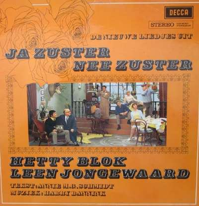 picture record cover ja zuster nee zuster